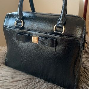 Kate Spade black patent leather